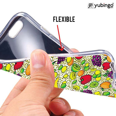 Fruits Pattern Back Cover for ITEL PWO Pro-Image2
