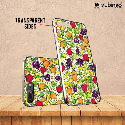 Fruits Pattern Back Cover for ITEL PWO Pro-Image3