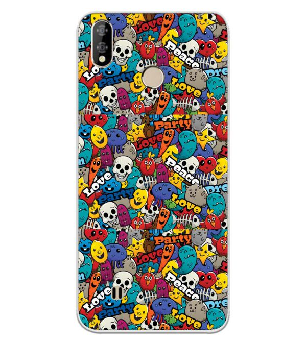 Funny Pattern Back Cover for Coolpad Mega 5-Image3