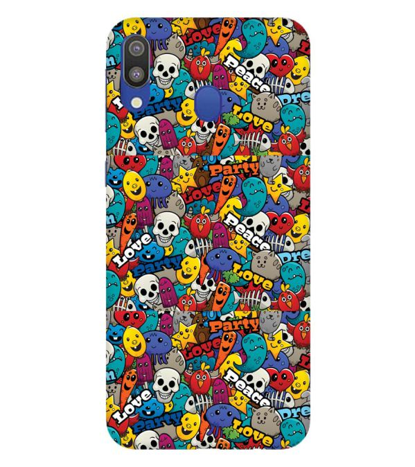 Funny Pattern Back Cover for Samsung Galaxy M20