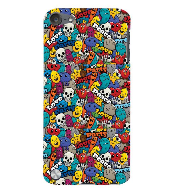 Funny Pattern Back Cover for Apple iPod Touch 5