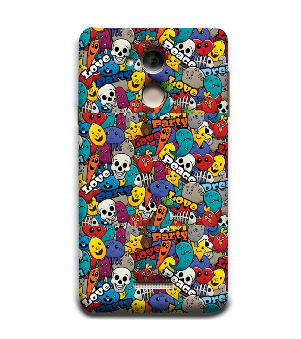 Funny Pattern Back Cover for Coolpad Note 5