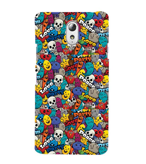 new product f9a3b 355e2 Buy Lenovo Vibe P1M Back Cover with Photo Online in India - YuBingo