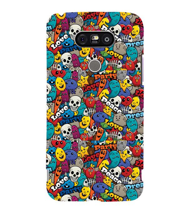 Funny Pattern Back Cover for LG G5