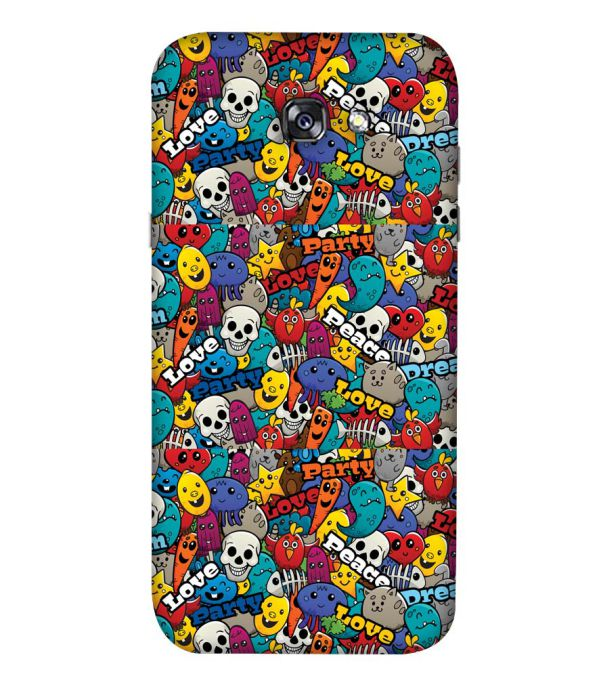 Funny Pattern Back Cover for Samsung Galaxy A5 (2017)