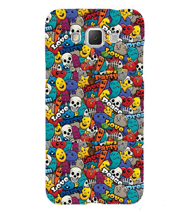 Funny Pattern Back Cover for Samsung Galaxy Grand Max G720