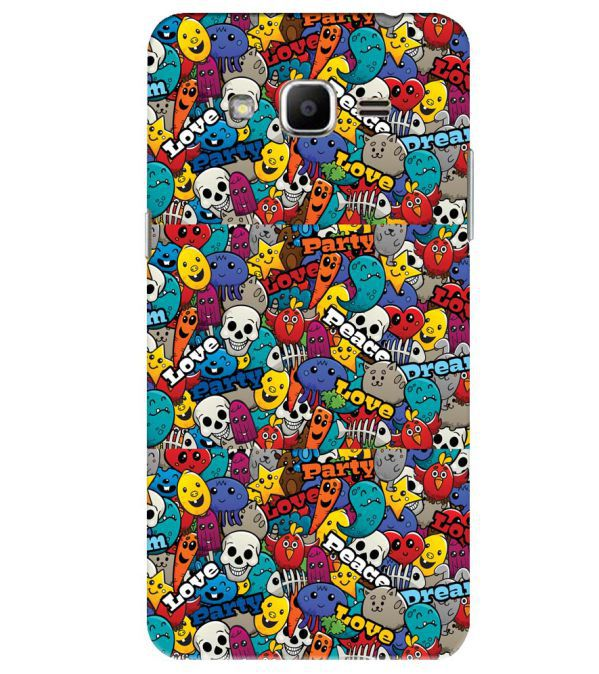 Funny Pattern Back Cover for Samsung Galaxy J2 Ace
