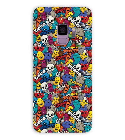 Funny Pattern Back Cover for Samsung Galaxy S9