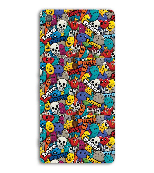 Funny Pattern Back Cover for Sony Xperia XA Ultra