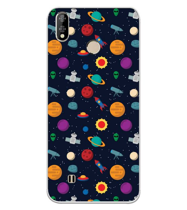 Galaxy Pattern Back Cover for Coolpad Mega 5-Image3