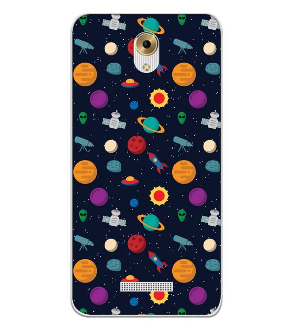 Galaxy Pattern Back Cover for Coolpad Mega 5M