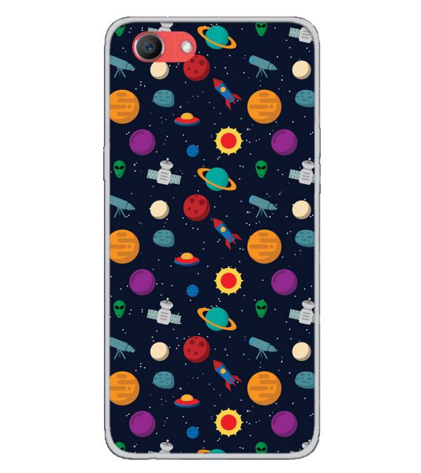 Galaxy Pattern Back Cover for Oppo Real Me 1-Image3