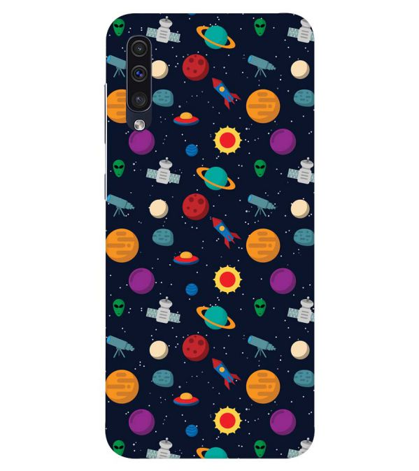 Galaxy Pattern Back Cover for Samsung Galaxy A50