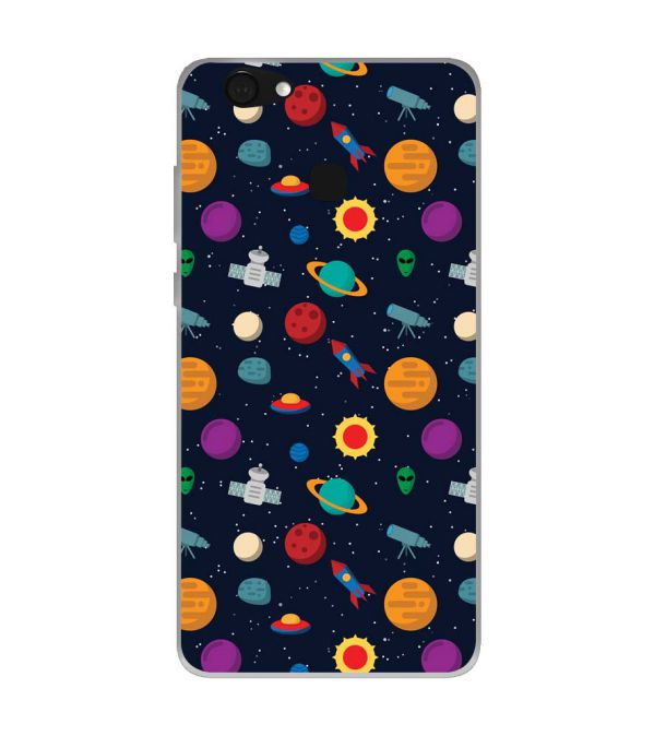 Galaxy Pattern Soft Silicone Back Cover for Kult Gladiator