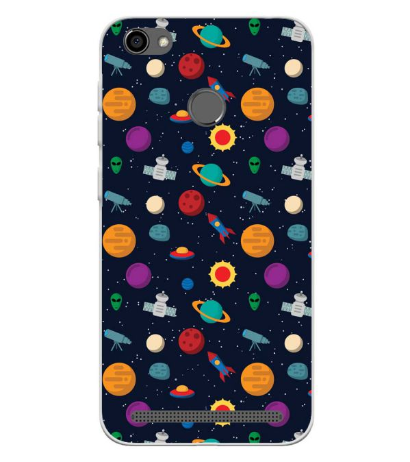 Galaxy Pattern Soft Silicone Back Cover for Panasonic P85 NXT