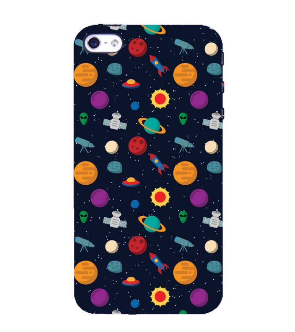 Galaxy Pattern Back Cover for Apple iPhone 4 : 4S