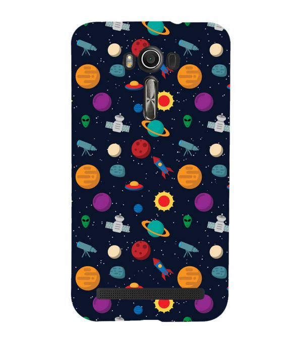 Galaxy Pattern Back Cover for Asus Zenfone 2 Laser ZE550KL