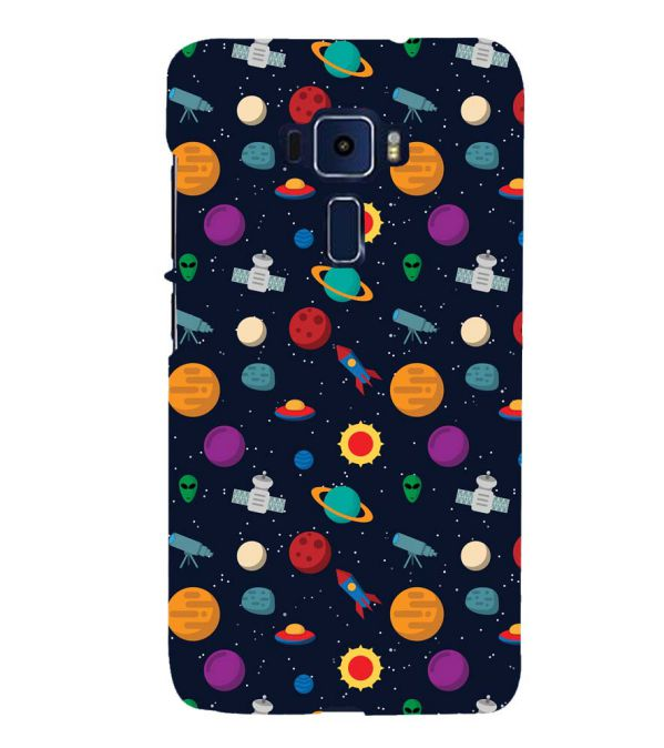 Galaxy Pattern Back Cover for Asus Zenfone 3 Deluxe ZS570KL