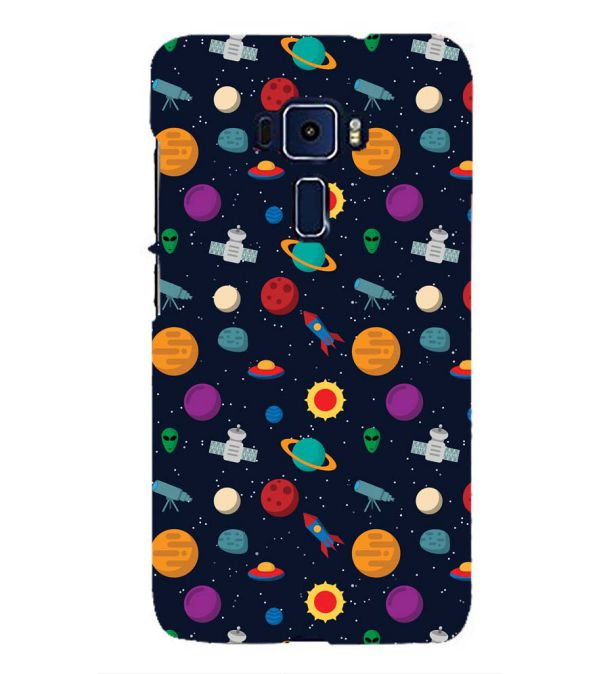 Galaxy Pattern Back Cover for Asus Zenfone 3 ZE552KL