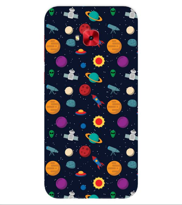 Galaxy Pattern Back Cover for Asus Zenfone 4 Selfie