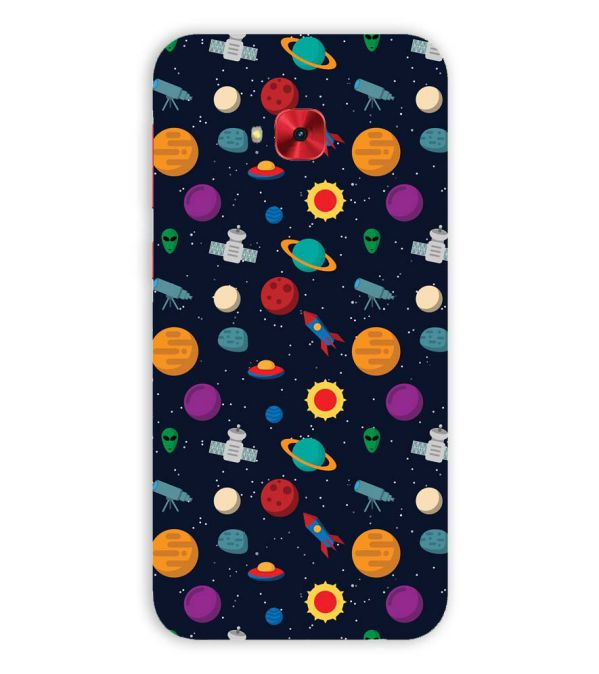 Galaxy Pattern Back Cover for Asus Zenfone 4 Selfie Pro ZD552KL