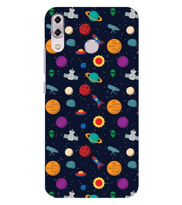 Galaxy Pattern Back Cover for Asus Zenfone 5z ZS620KL
