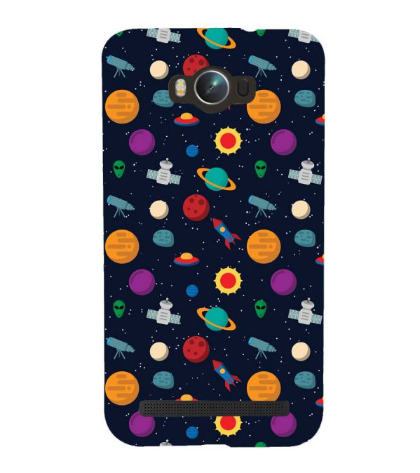 Galaxy Pattern Back Cover for Asus Zenfone Max ZC550KL