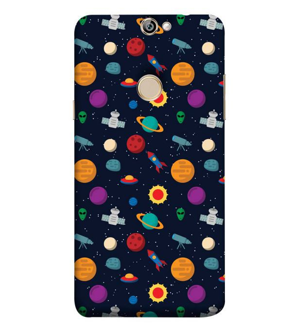 Galaxy Pattern Back Cover for Coolpad Max A8