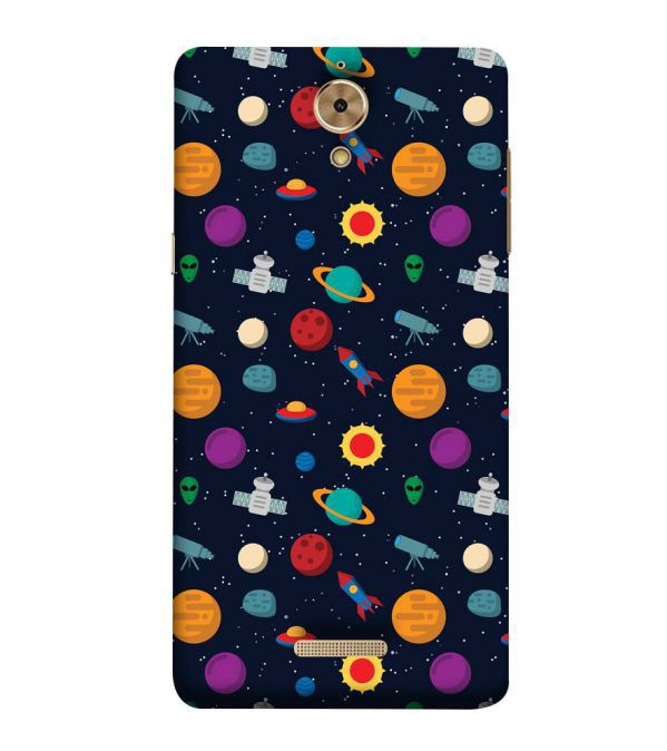 Galaxy Pattern Back Cover for Coolpad Mega 2.5D