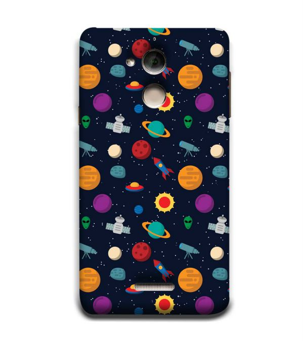 Galaxy Pattern Back Cover for Coolpad Note 5