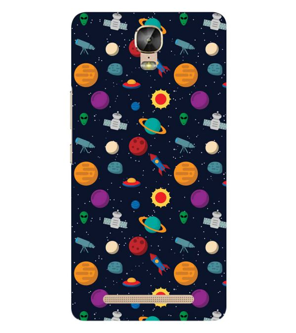 Galaxy Pattern Back Cover for Gionee Marathon M5 Plus