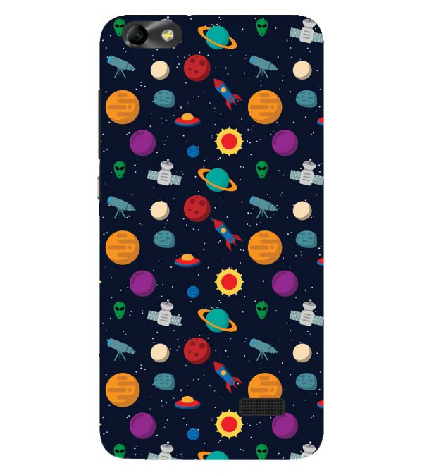 Galaxy Pattern Back Cover for Huawei Honor 4C