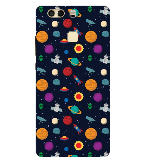 Galaxy Pattern Back Cover for Huawei P9