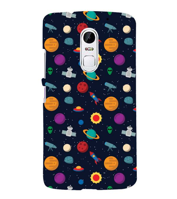 Galaxy Pattern Back Cover for Lenovo Vibe X3