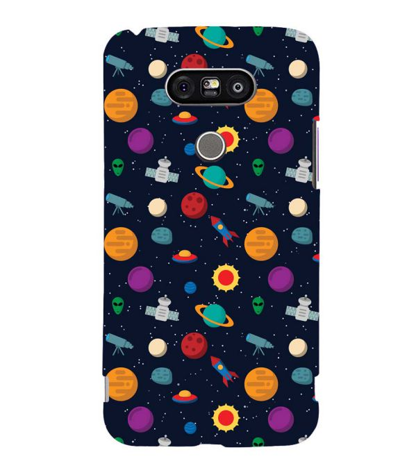 Galaxy Pattern Back Cover for LG G5