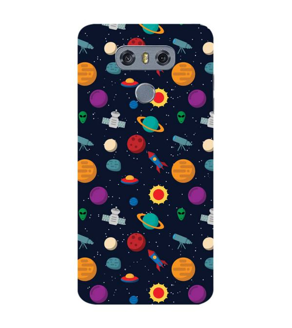 Galaxy Pattern Back Cover for LG G6