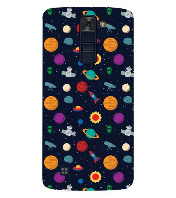 Galaxy Pattern Back Cover for LG K8