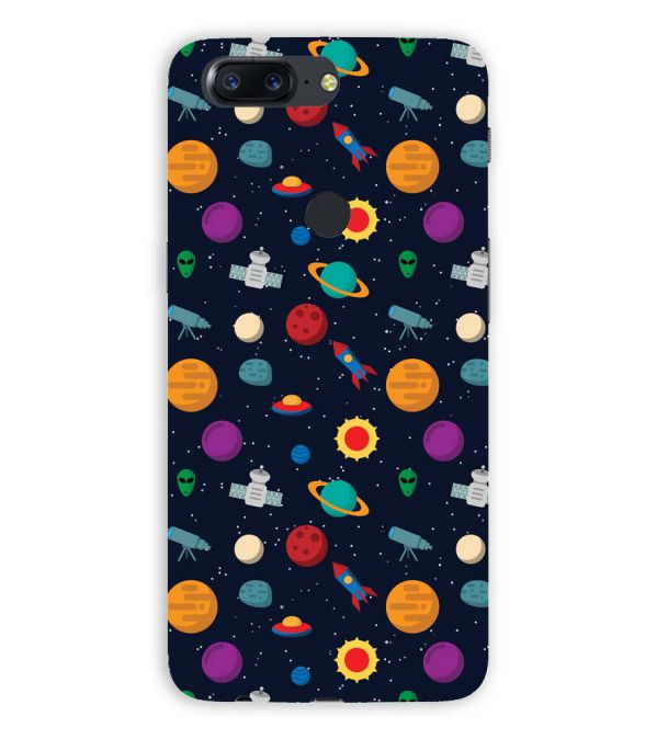 Galaxy Pattern Back Cover for OnePlus 5T