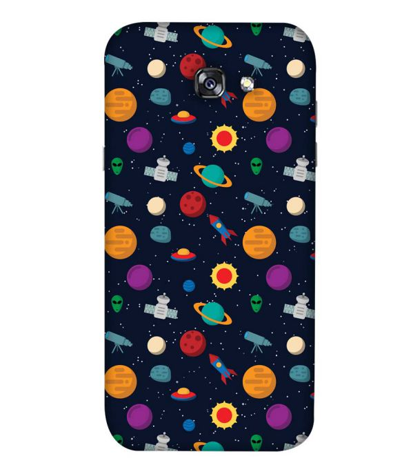 Galaxy Pattern Back Cover for Samsung Galaxy A5 (2017)