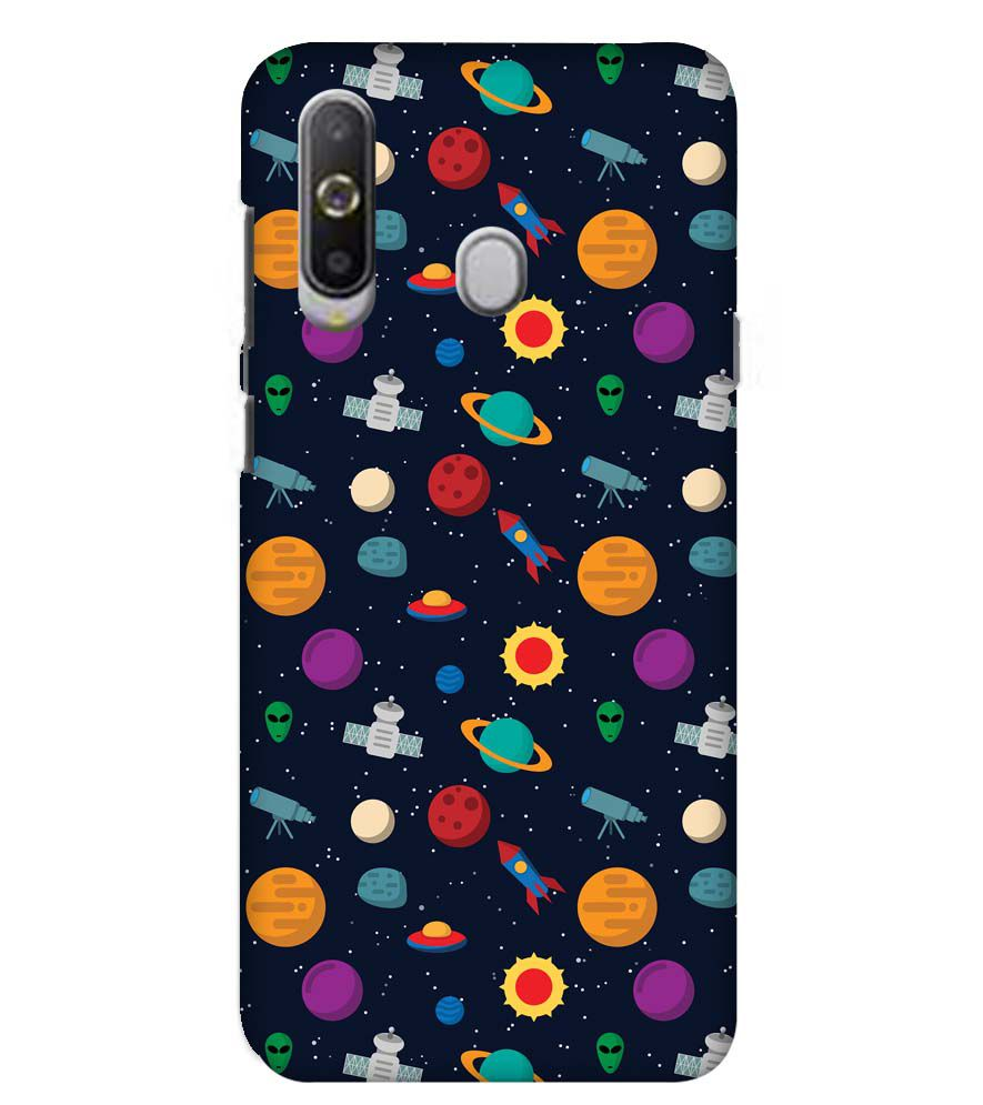 Galaxy Pattern Back Cover for Samsung Galaxy A8s