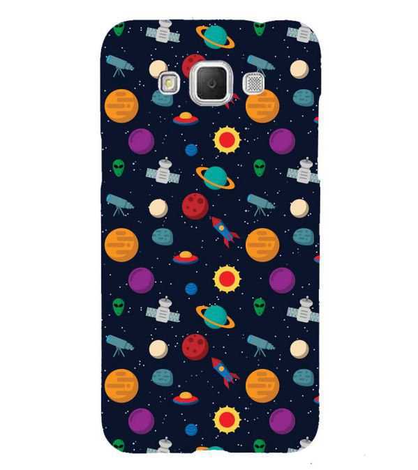 Galaxy Pattern Back Cover for Samsung Galaxy Grand Max G720