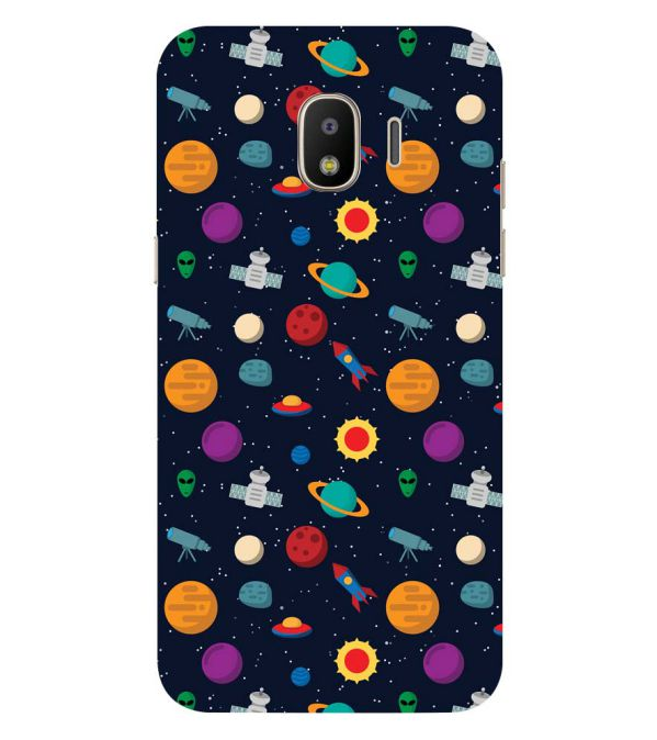 Galaxy Pattern Back Cover for Samsung Galaxy J2 (2018)