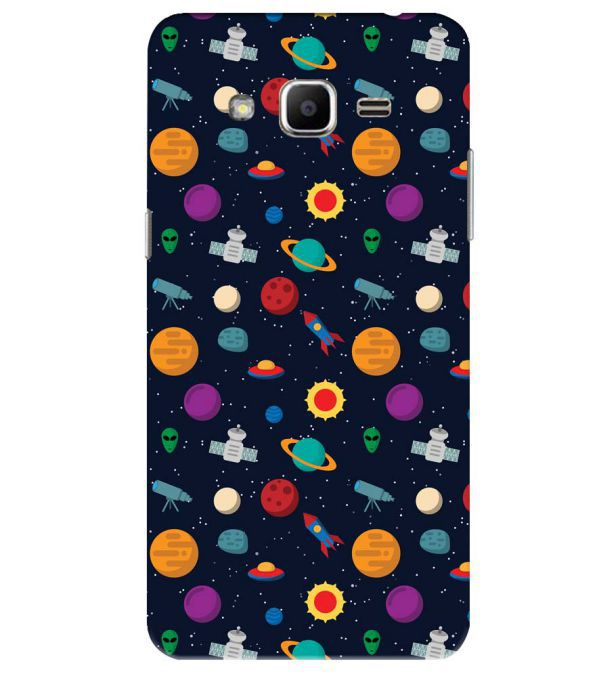 Galaxy Pattern Back Cover for Samsung Galaxy J2 Ace