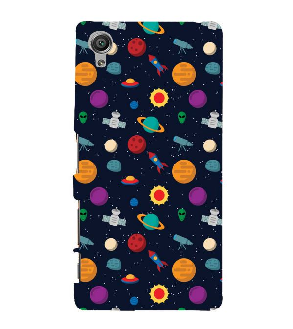 Galaxy Pattern Back Cover for Sony Xperia X