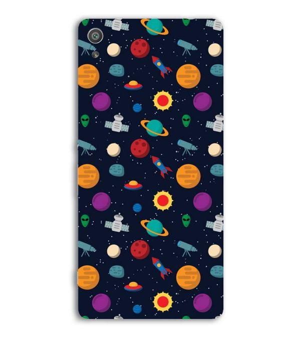 Galaxy Pattern Back Cover for Sony Xperia XA Ultra