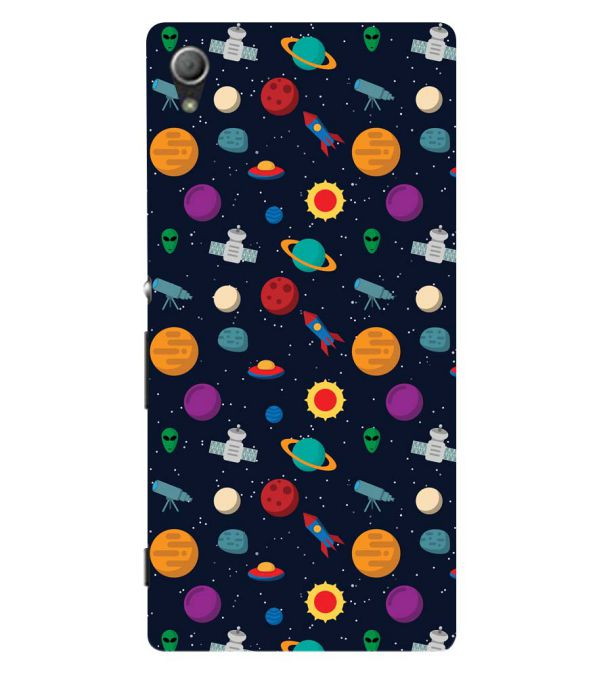 Galaxy Pattern Back Cover for Sony Xperia Z3+ and Xperia Z4