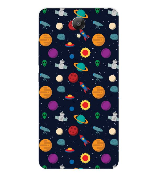 Galaxy Pattern Back Cover for Xiaomi Redmi Note 2