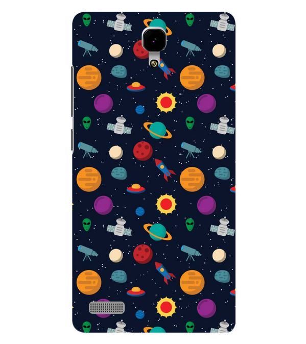 Galaxy Pattern Back Cover for Xiaomi Redmi Note 4G