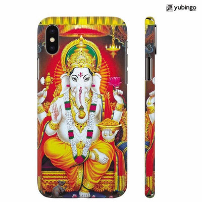 Ganpati Back Cover for Apple iPhone X