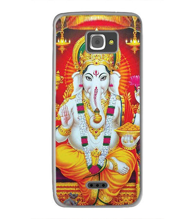 Ganpati Back Cover for InFocus M350